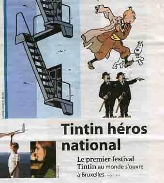 LE FESTIVAL TINTIN DE BRUXELLES