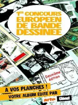 2ème édition du 1er Concours Européen de la BD
