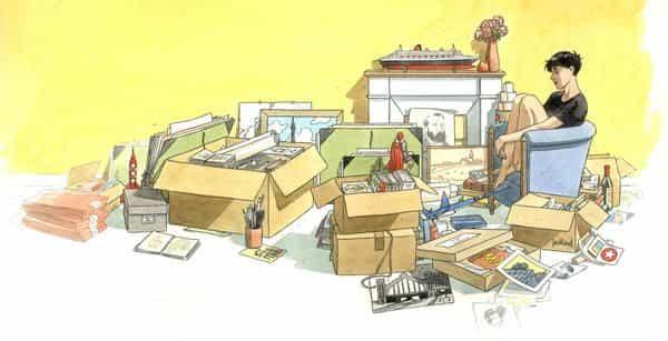 La Boite à dessins d'André Juillard