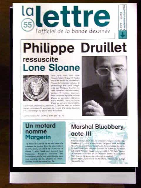 La lettre 55 (septembre-octobre 2000)– L'officiel de la bande dessinée
