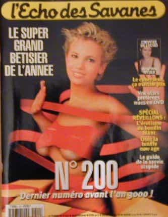 L'Echo des savanes n°200 de janvier 2001
