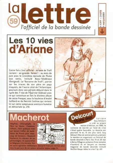 La Lettre (de Dargaud) n°59