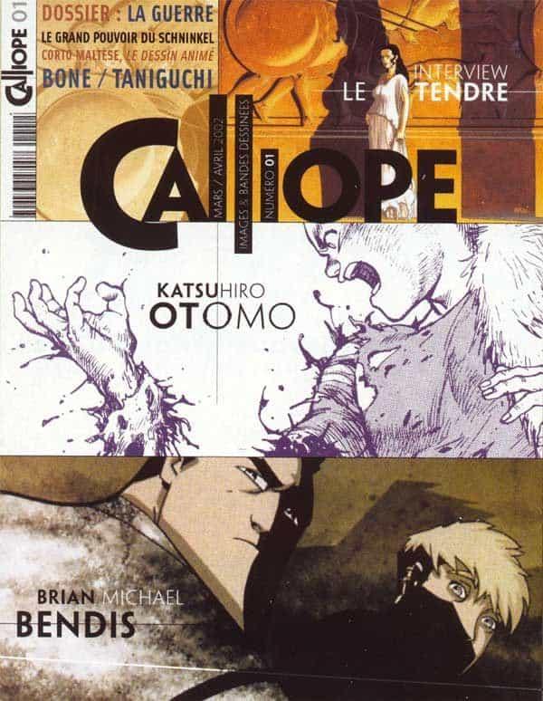Calliope, un nouveau magazine consacré au neuvième art