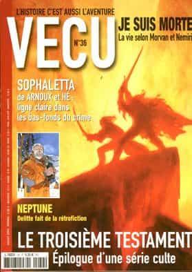 Vécu n°36 – Juillet 2003.