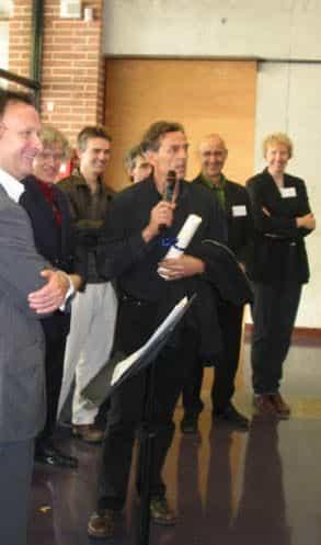Lax, lauréat 2005 du prix de la Bande Dessinée historique de Blois