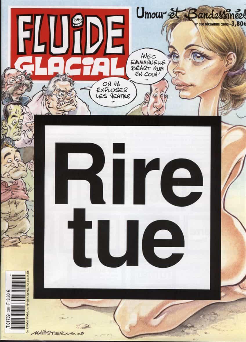 Fluide Glacial n°330 – Décembre 2003