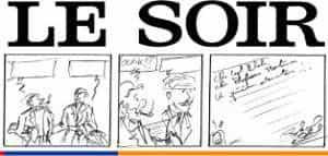 Un numéro collector du journal Le Soir pour féter le centenaire de Jacobs
