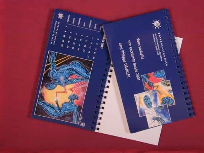 Un calendrier Druillet pour 2001