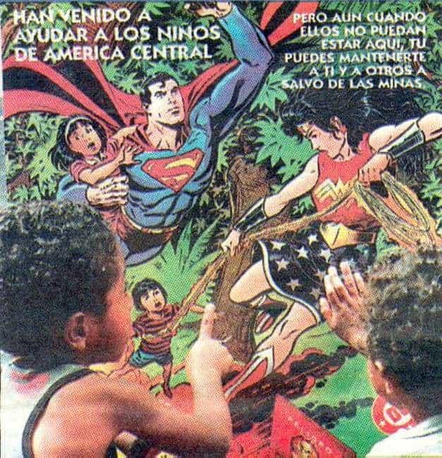 SUPERMAN ET WONDER WOMAN S'ASSOCIENT CONTRE LES MINES!