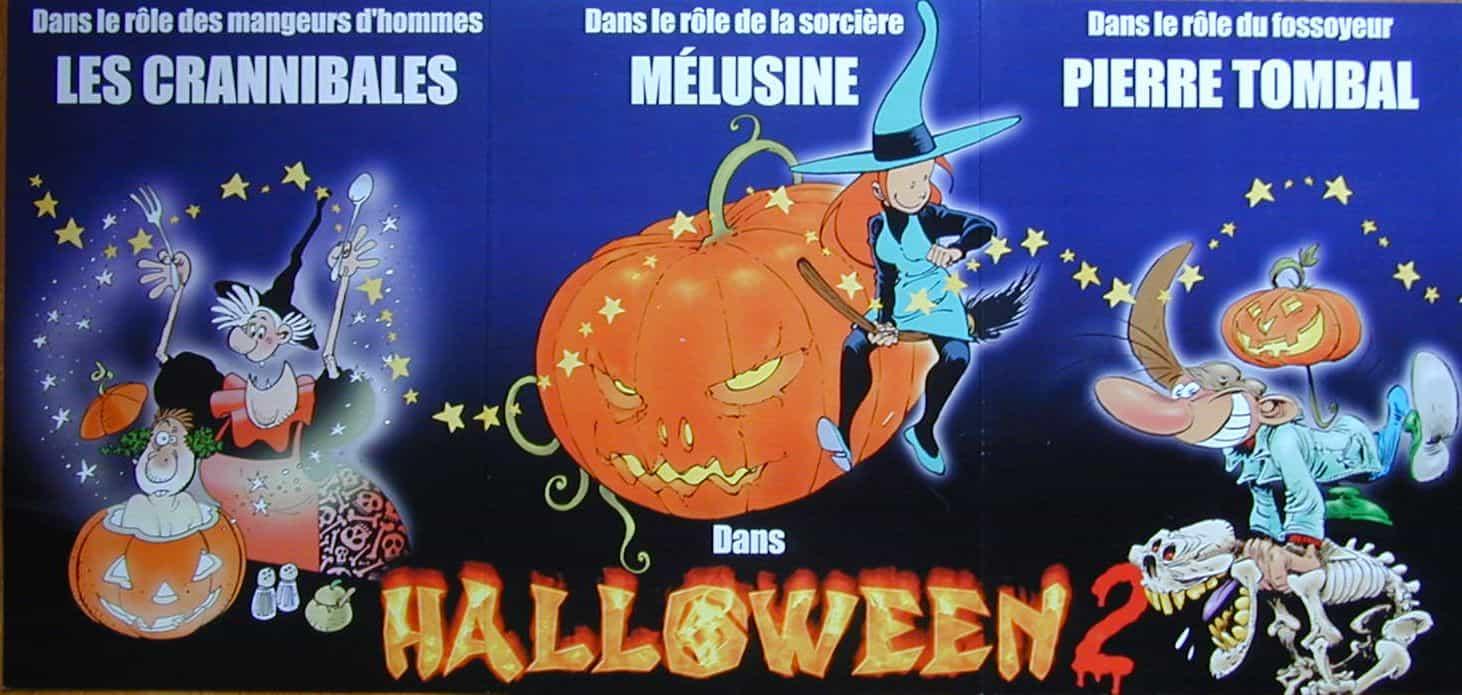 Opération Halloween 2 chez Dupuis