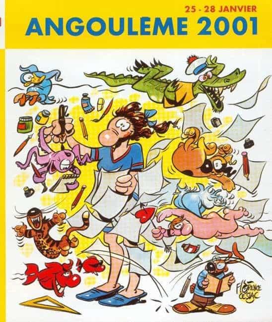 28e FESTIVAL INTERNATIONAL INTERNATIONAL DE LA BD D'ANGOULEME