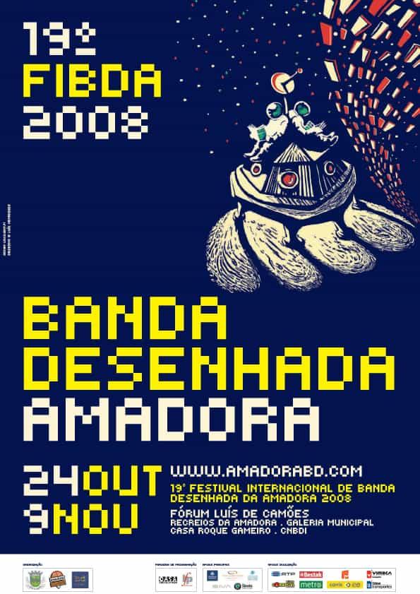 19° Festival Internacional de Banda Desenhada d' Amadora 2008: du 24 Octobre au 9  Novembre