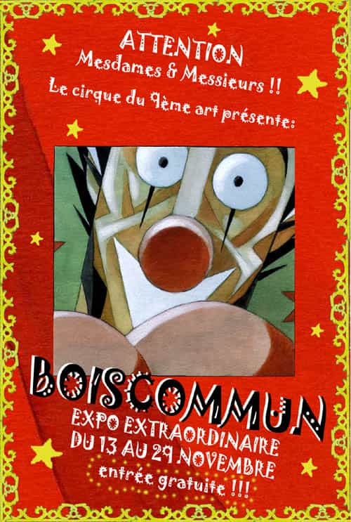 Exposition-Vente Boiscommun