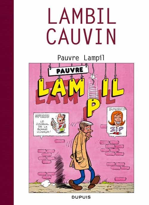 LE COIN DU PATRIMOINE BD : La face « couchée » de Raoul Cauvin !