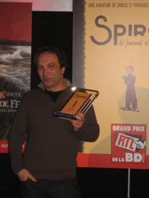 « SPIROU, JOURNAL D'UN INGENU », Grand Prix RTL de la Bande Dessinée 2008