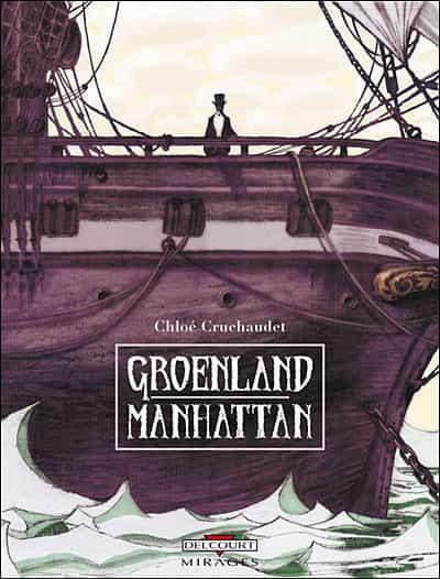 Chloé Cruchaudet, jeune auteure de 32 ans, a reçu hier soir le Prix René Goscinny pour son 1er album GROENLAND MANHATTAN.