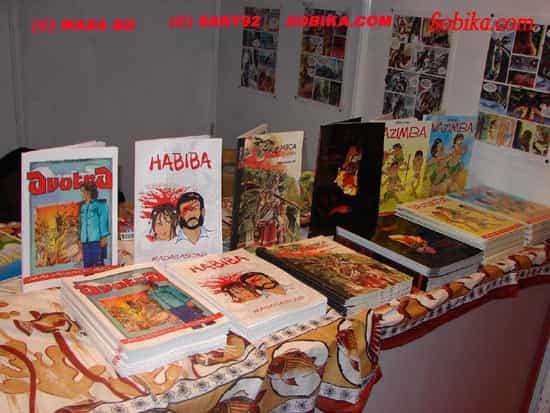 Histoire de la bande dessinée à Madagascar