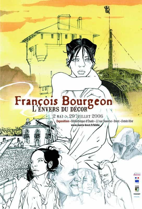 François Bourgeon à la Bibliothèque d'Etude de Brest