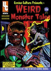 Golden Comics n°1 : Weird Monster Tales