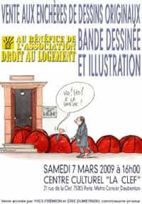 VENTE AUX ENCHÈRES BD « DAL » LE SAMEDI 7 MARS 2007