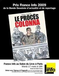 """Rencontre France Info  autour du """"Procès Colonna"""" au Salon du Livre"""