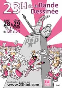 LES 23 HEURES DE LA BANDE DESSINEE