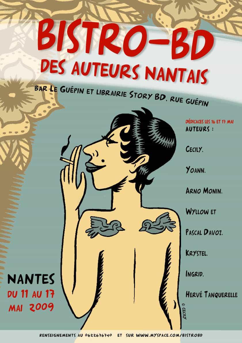 SILVINA PRATT PRÉSENTE LA PREMIÈRE ÉDITION DU BISTRO-BD DE NANTES (11-17 MAI 2009)