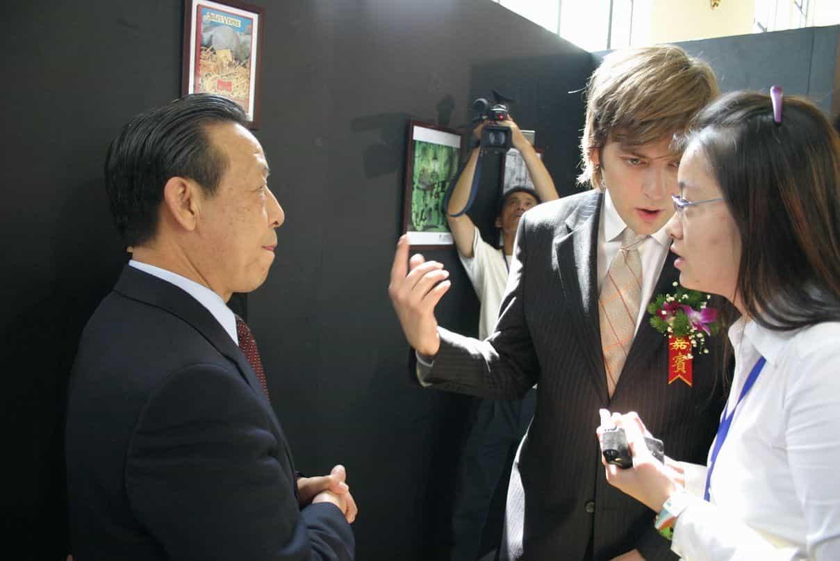 Le FIBD à Shanghai 2006 : Renforcer la visibilité internationale des auteurs et des éditeurs de  bande dessinée d'expression française