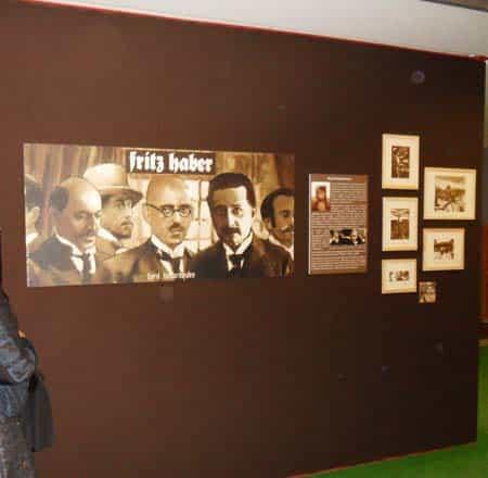 REPORTAGE SUR L'EXPOSITION « FRITZ HABER » A BLOIS