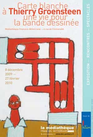 « Carte blanche » à Thierry Groensteen : une vie pour la Bande Dessinée