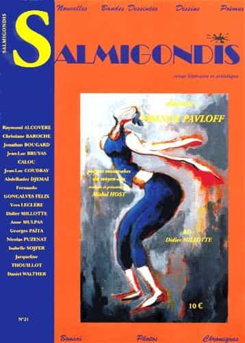 La revue Salmigondis organise un concours international de Bandes Dessinées.