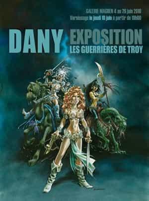 """Exposition Dany - """"Les Guerrières de Troy"""" à la galerie Maghen"""