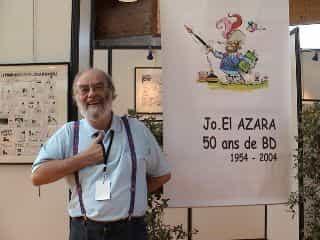 JO-EL AZARA: UN DEMI-SIÈCLE DE B.D.