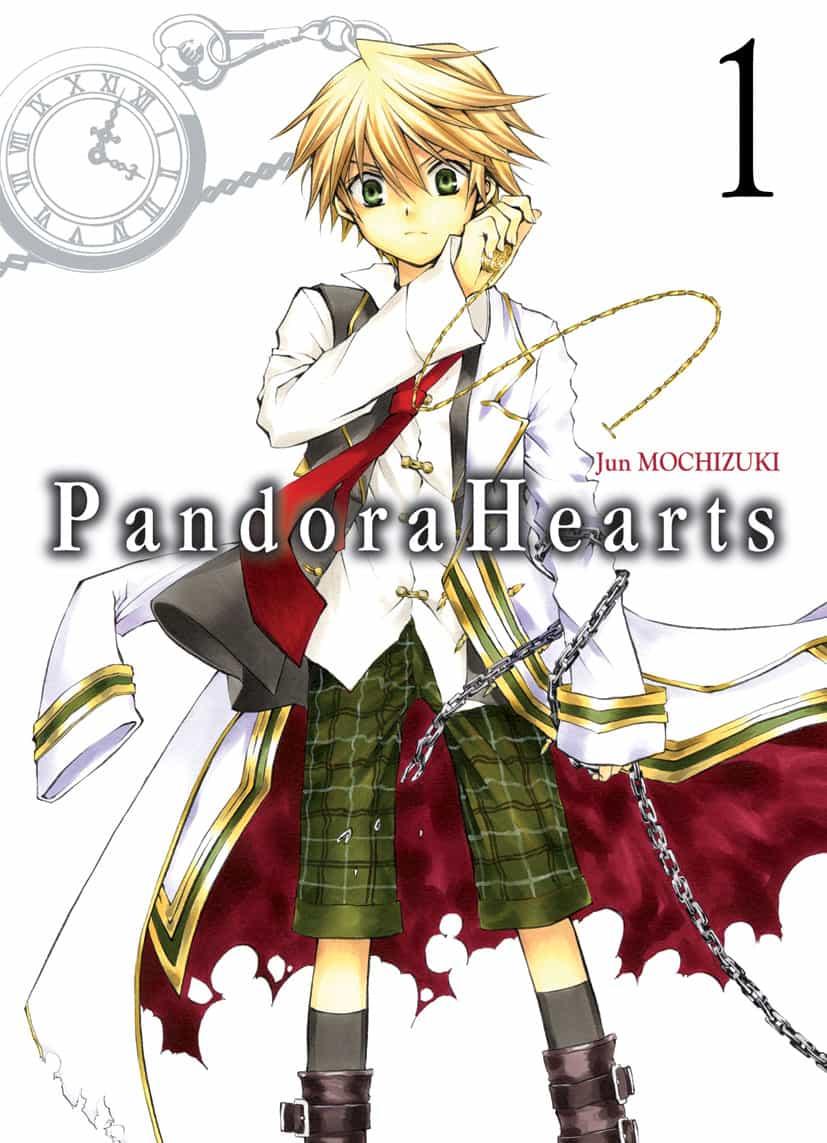 "ZOOM MANGA "" Pandora Hearts "" T1 & 2 par Jun Mochizuki"