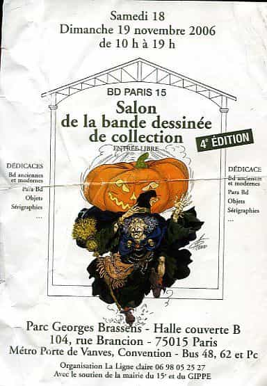 SALON DE LA BD DE COLLECTION