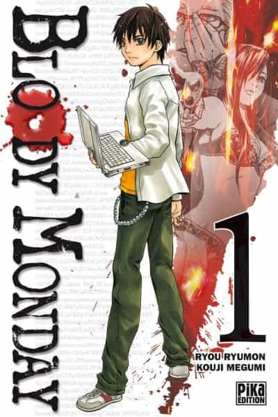 """""""Bloody Monday"""" T1 par Ryumon et Kouji"""