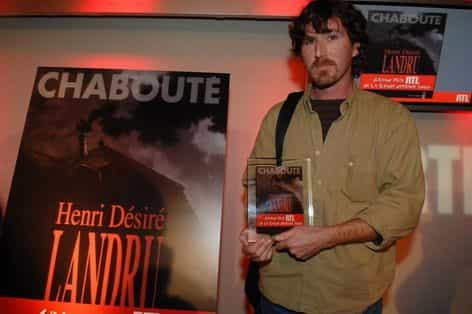 Chabouté Grand Prix RTL pour Henri Désiré Landru