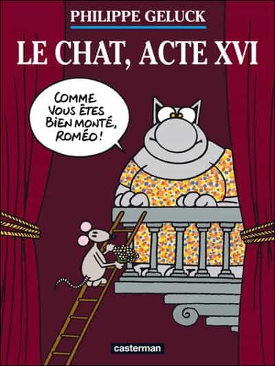 """""""LE CHAT"""" DE GELUCK, """"ACTE XVI"""" : LA VIDEO"""