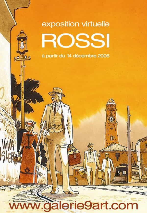 ROSSI,exposition / vente virtuelle