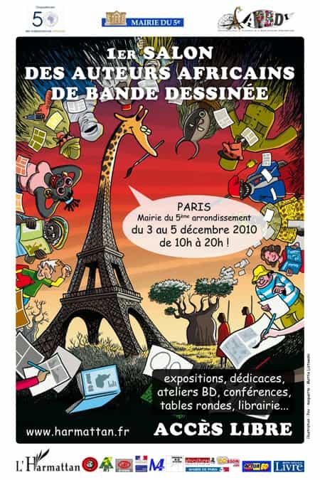 LE 1er SALON DES AUTEURS AFRICAINS DE BANDE DESSINEE
