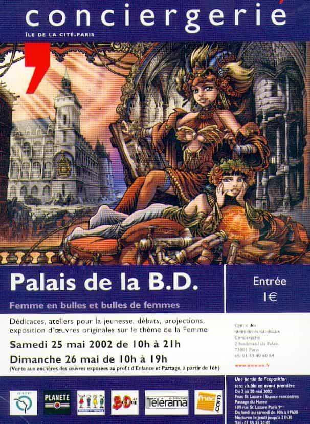 PALAIS DE LA BD