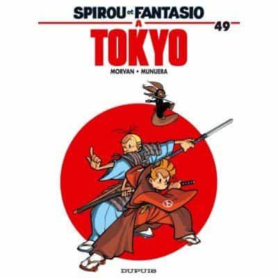 """Morvan & Munuera, auteurs actuels de  """"Spirou et Fantasio"""", cèdent la main..."""