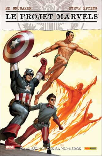 "COMIC BOOK HEBDO: ""Le Projet Marvels"" par Epting et Brubaker"