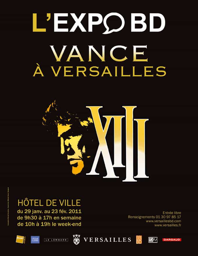 WILLIAM VANCE EN VEDETTE À VERSAILLES