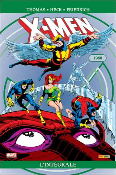 """COMIC BOOK HEBDO: """"X-Men : l'intégrale 1968"""" par Stan Lee"""