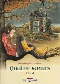 """L'AUTRE BD JEUNESSE DU MOIS : """"Quatre soeurs"""" T1 (""""Enid"""")"""