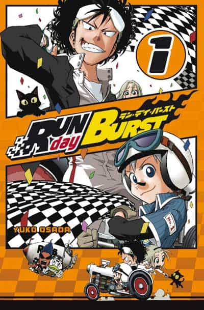 """Run Day Burst"" T1 par Yuko Osada"