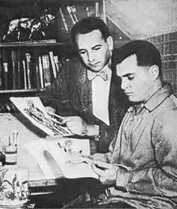 LE COIN DU PATRIMOINE US : Joe Simon & Jack Kirby Swipes
