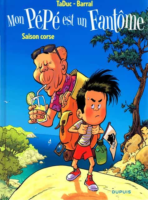 """""""Mon pépé est un fantôme"""" T4 par N. Barral et TaDuc"""