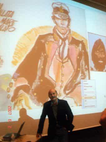 Claude Moliterni et l'œuvre d'Hugo Pratt au Festival BD l'Odyssée à Dreux